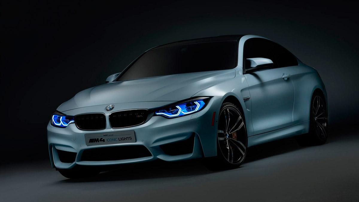 BMW M4 Iconic Lights Concept  delantera