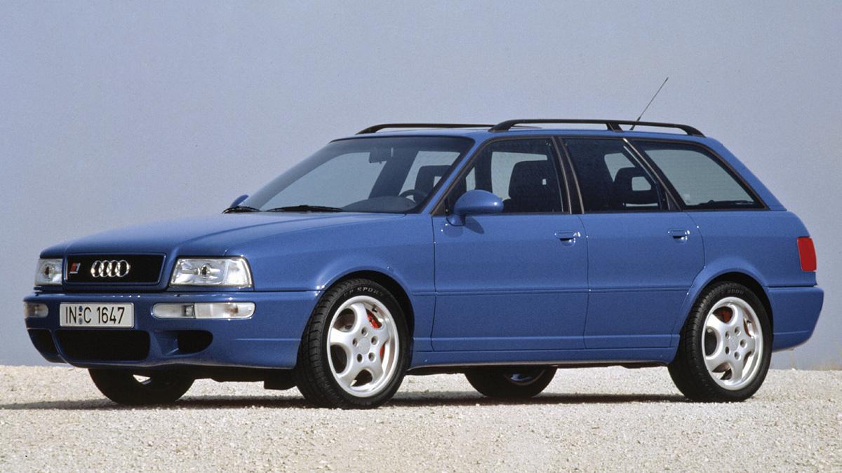 coches 1990 deberías probar Audi RS2
