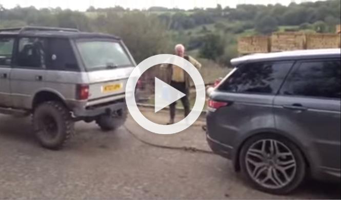 Un Range Rover Classic contra el nuevo Range Rover Sport