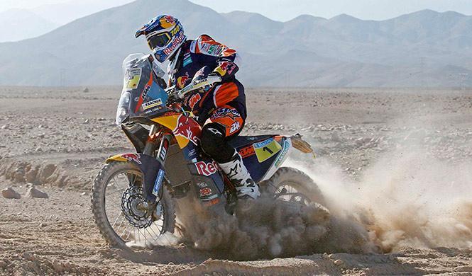 Rally Dakar 2015, Motos Etapa 5: primer triunfo de Coma