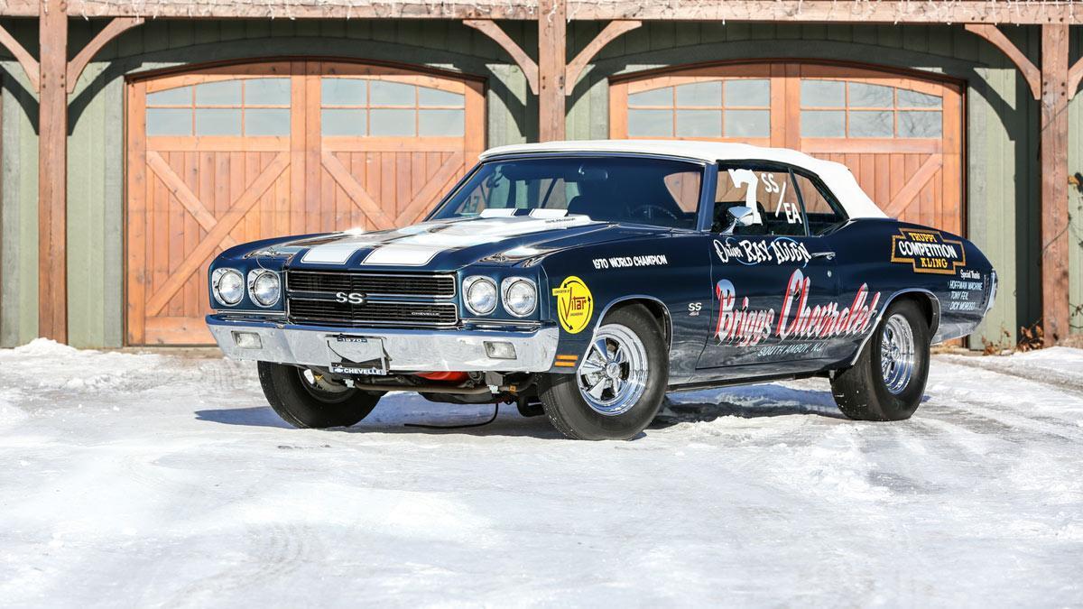 Chevrolet Chevelle LS6 Convertible Super Stock Championship Drag de 1971