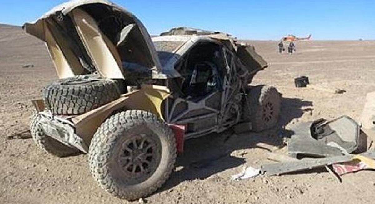 Accidente-Peugeot-2008-DKR-Sainz-Dakar-2015