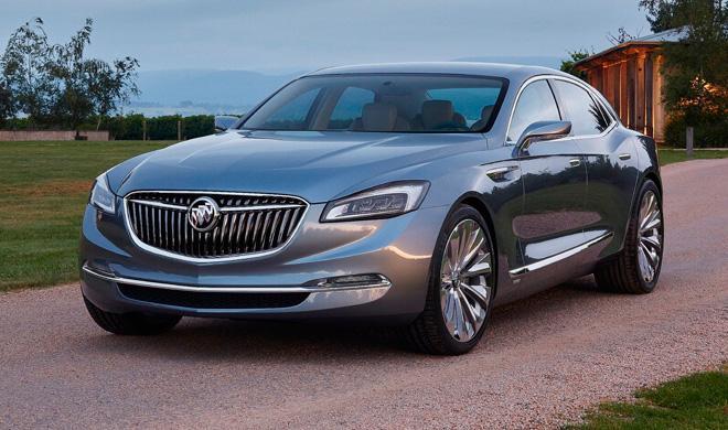 Buick Avenir Concept presentado en Detroit 2015
