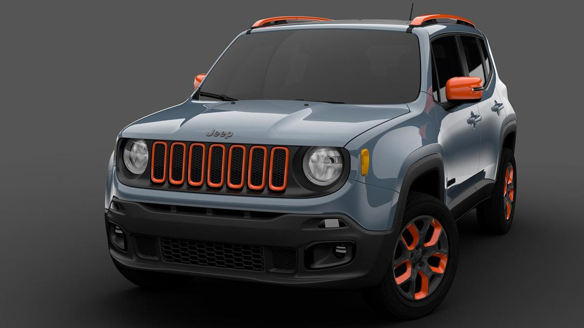 Mopar Detroit 2015 Jeep Renegade off-road Mopar