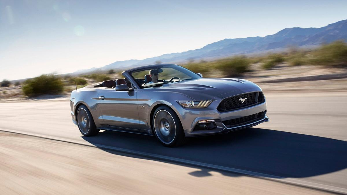 coches perfectos Ruta 66 Ford Mustang Convertible
