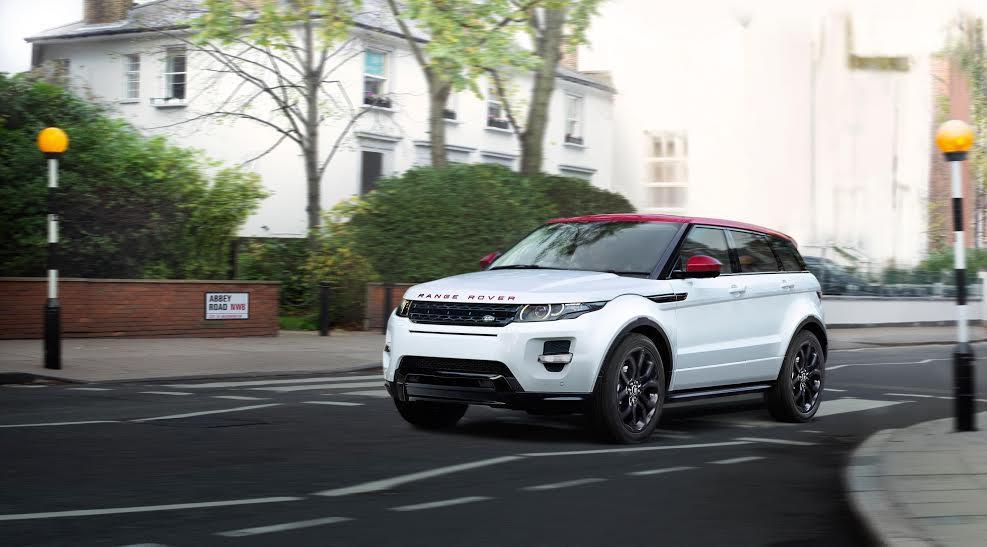 Range Rover Evoque British Edition dinámica