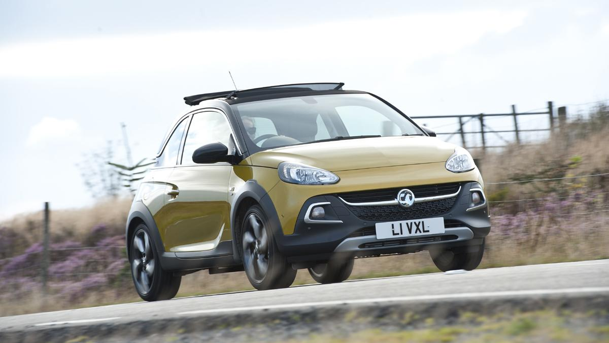 cinco coches estética SUV Opel Adam Rocks