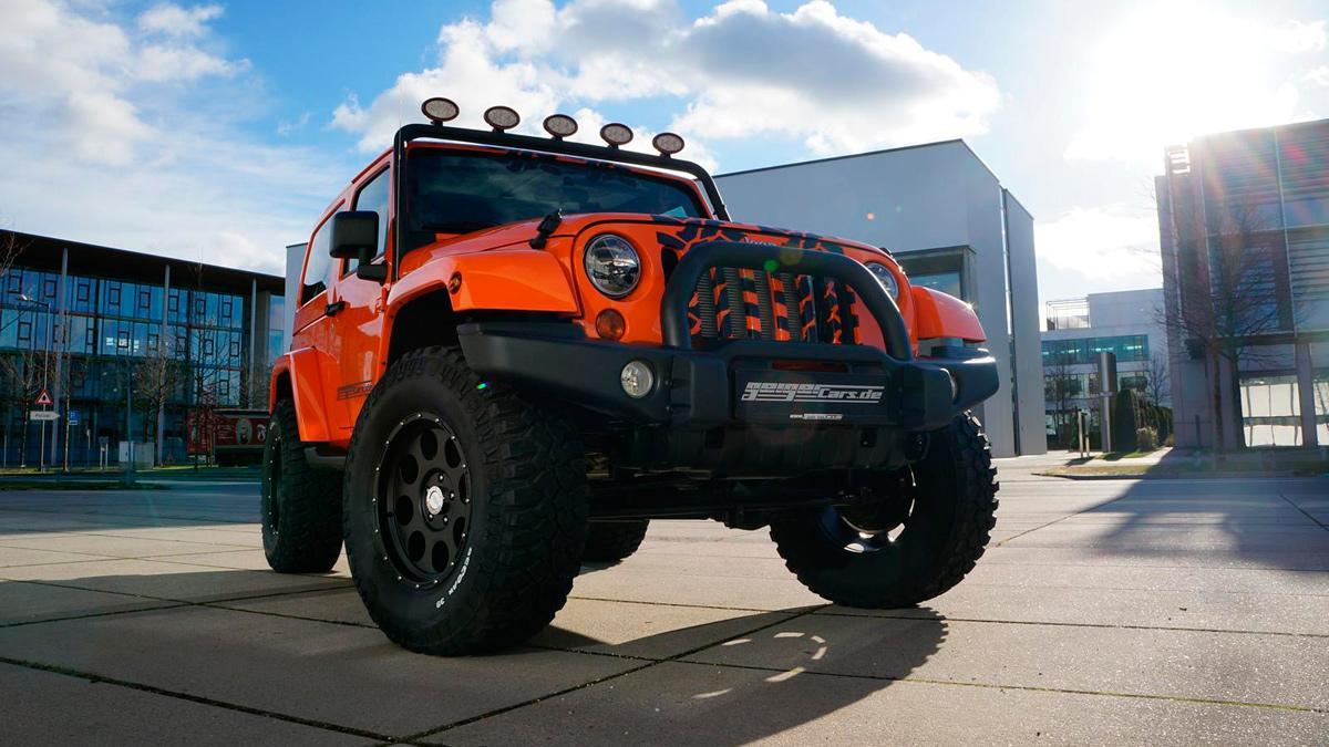 Jeep Wrangler Geiger 2015 - 1