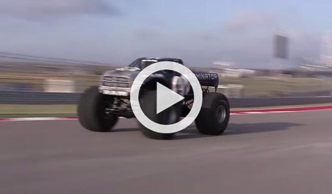 Raminator, el Monster Truck más rápido del mundo