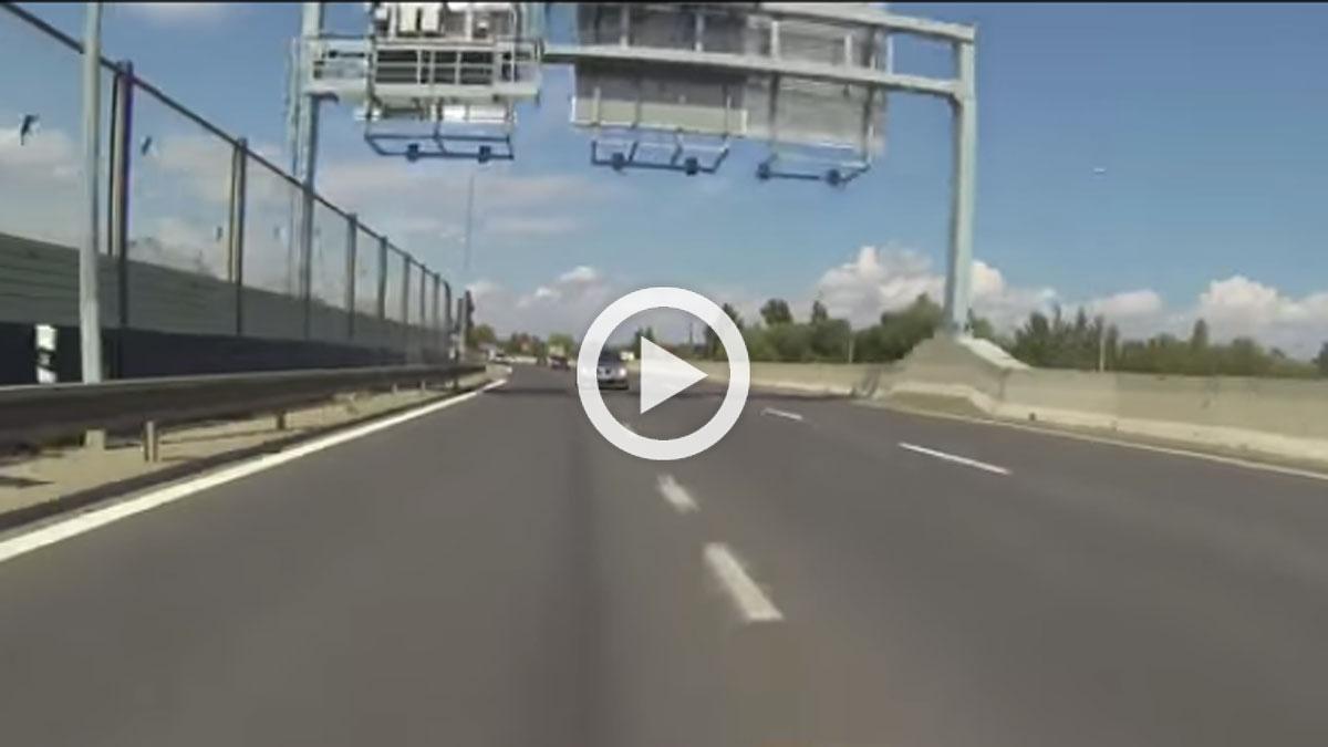 Vídeo: ¿conductores? No; delincuentes