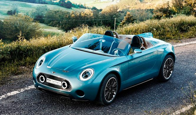 Así podría ser el Mini Superleggera Roadster 2016