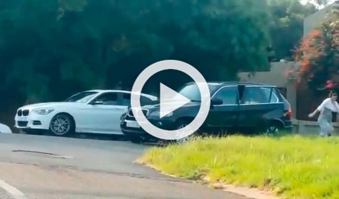 Vídeo: sobrecogedor intento de atraco en Sudáfrica