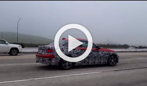 El misterioso prototipo de un BMW Serie 2 Coupe, cazado