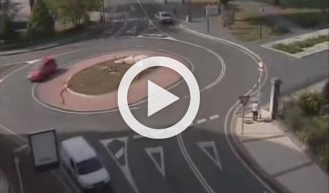 Llegan a España las 'turbo rotondas'