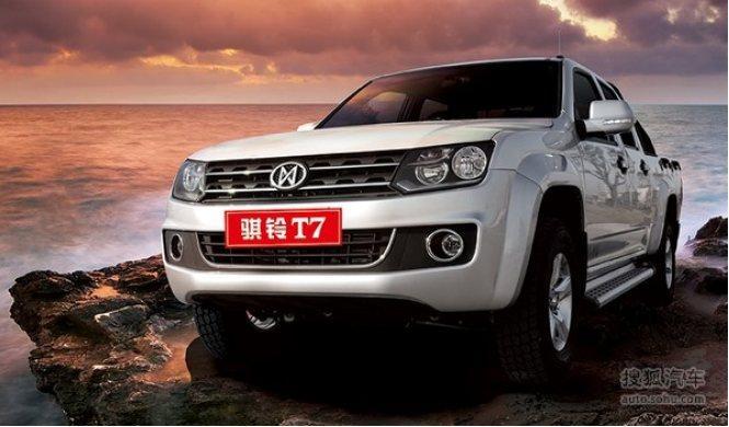 Una copia china exacta del Volkswagen Amarok