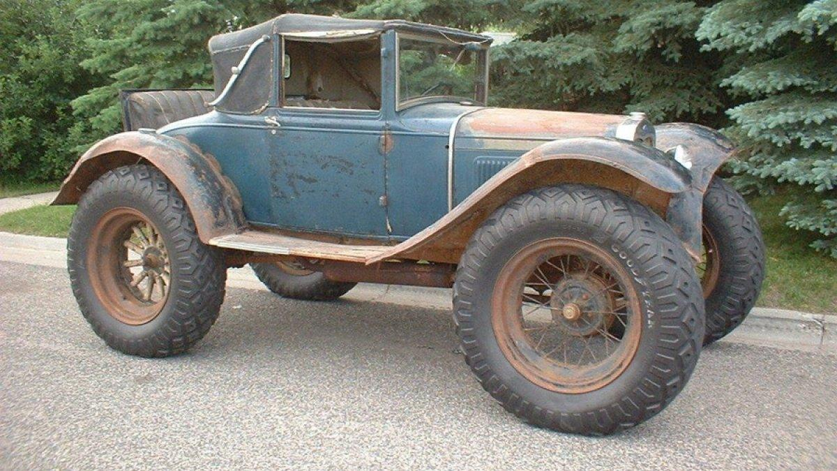 Ford Model A 'Bigfoot' lateral