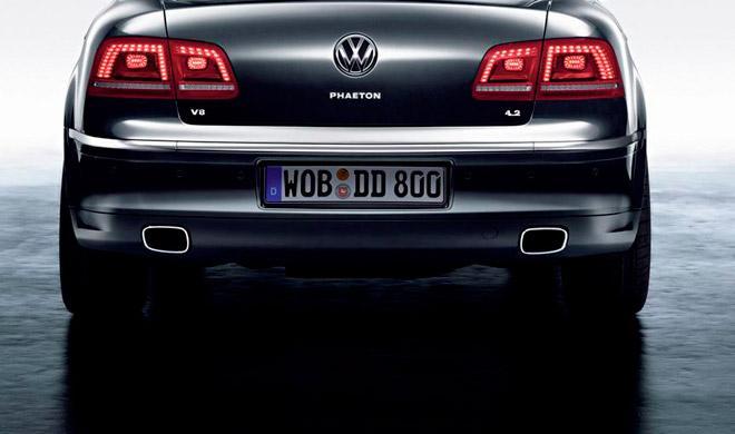 Volkswagen planea reducir los costes del nuevo Phaeton