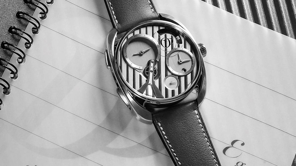 Peugeot Design Lab diseña el reloj concept de Pecqueur Conceptuals
