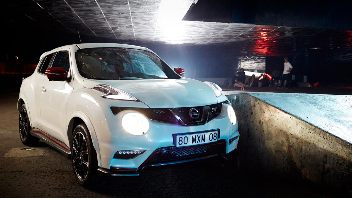 Nissan Juke & DC Shoes - Frontal