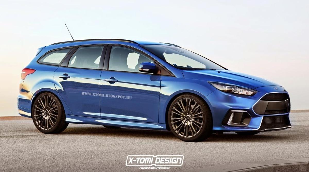 Ford Focus RS 2015 Wagon: ¡descubrimos el familiar!