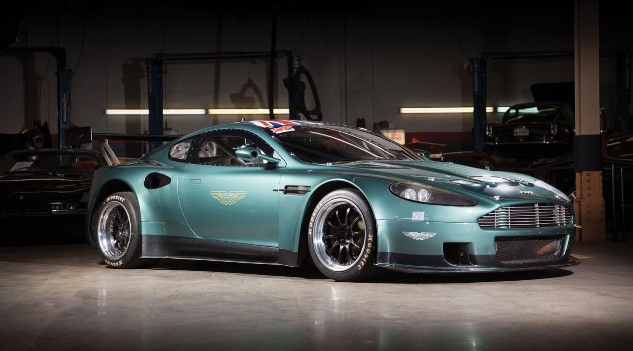 Un Aston Martin DBRS9 a subasta delantera