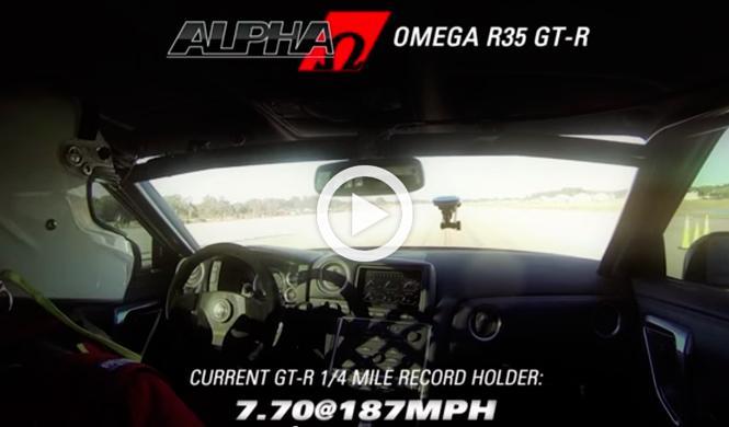 Vídeo: un Nissan GT-R alcanza los 361 km/h en 800 metros