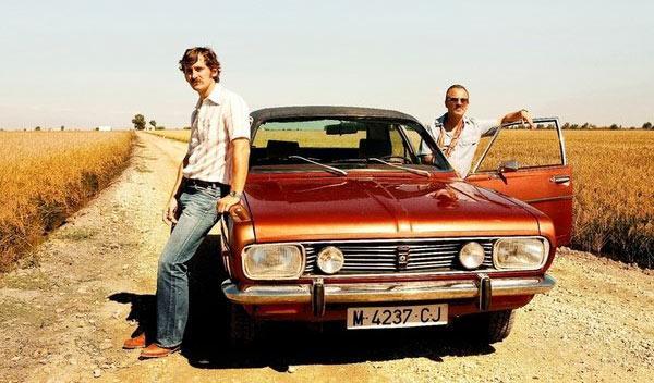 Los coches de la película 'La isla mínima'