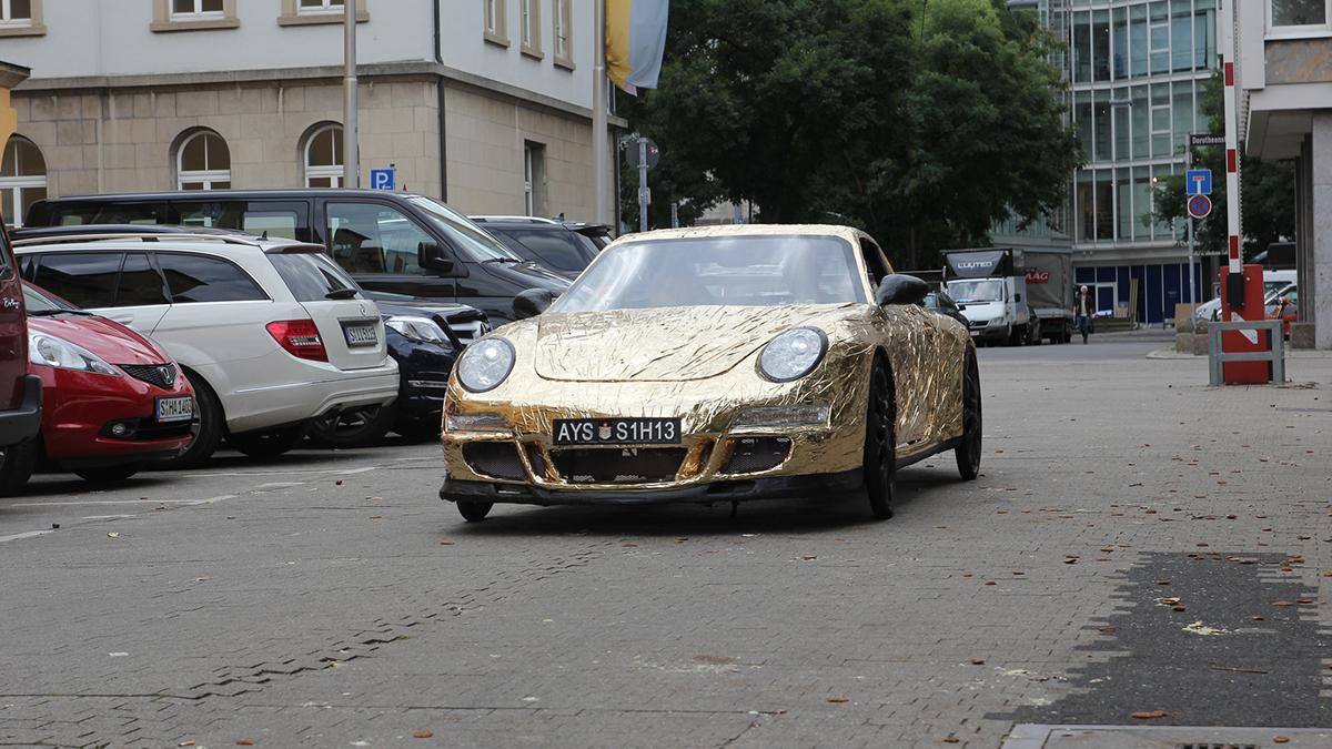 Porsche 911 de carton