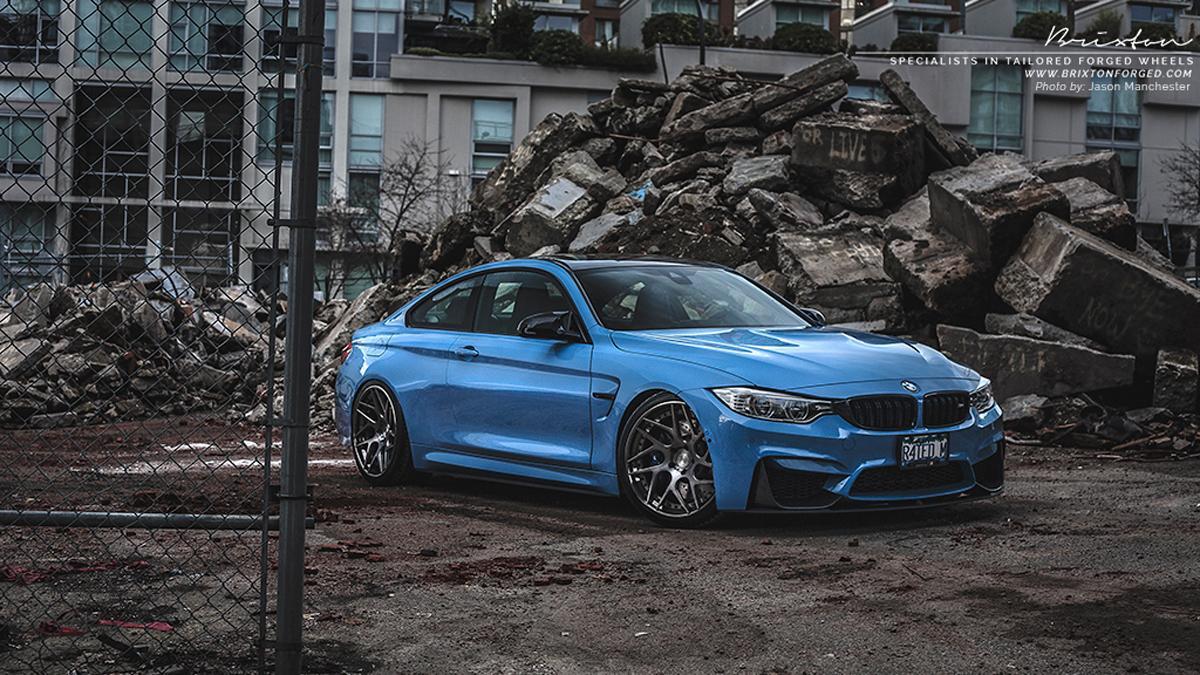 BMW M4 Yas Marina Blue
