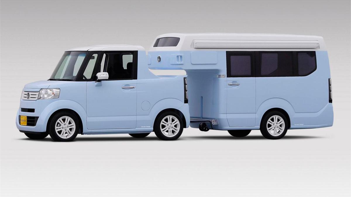 Honda N-Box Slash Concept - exterior