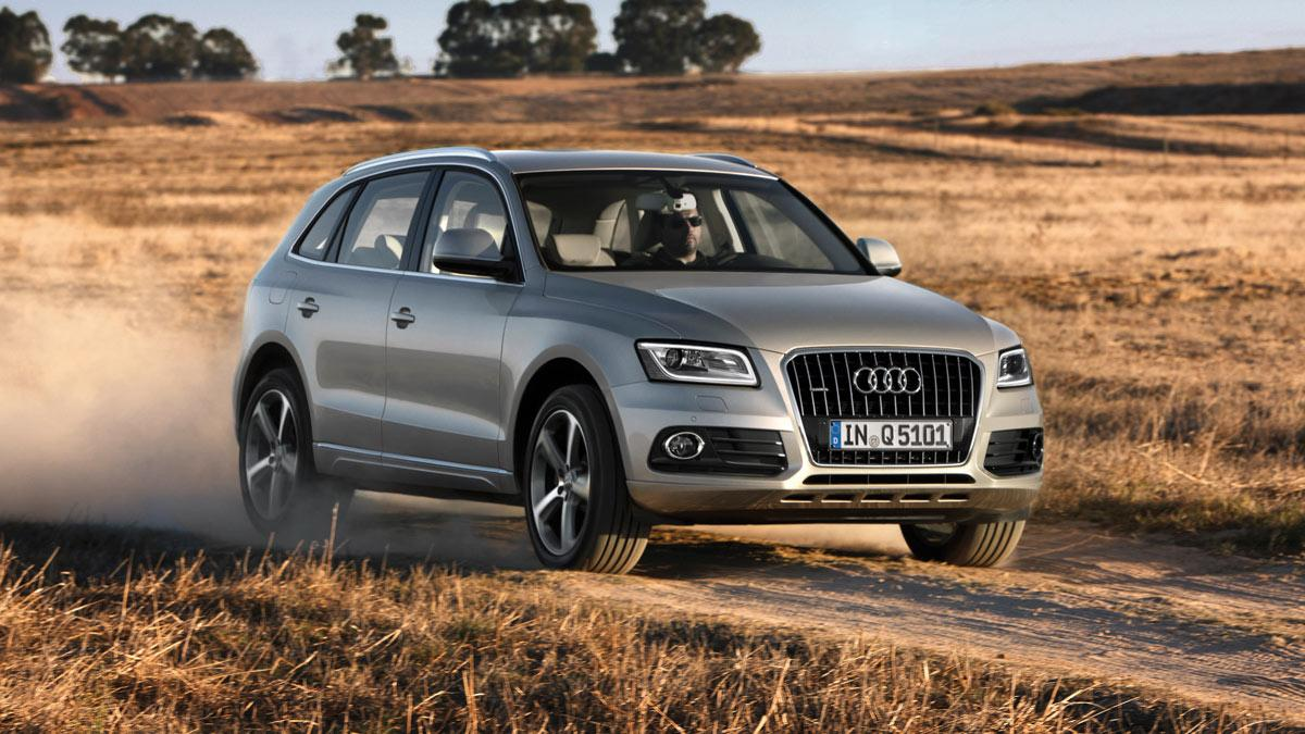 Audi Q5 es el SUV delantera