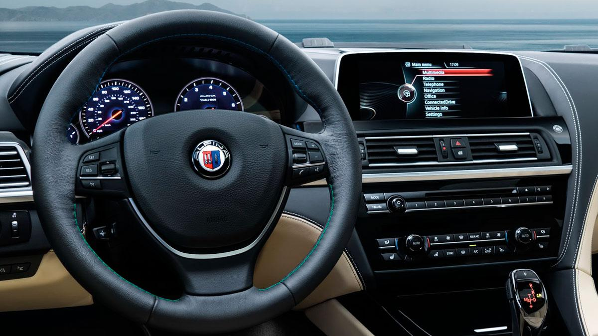 Alpina B6 xDrive Gran Coupé 2016 interior