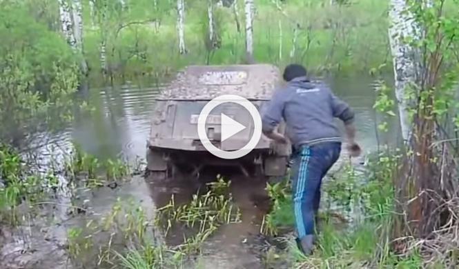 Vídeo: lo que nunca debes hacer para vadear un río en 4x4