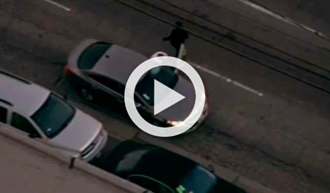 Vídeo: persecución policial en Los Ángeles, ¡de videojuego!