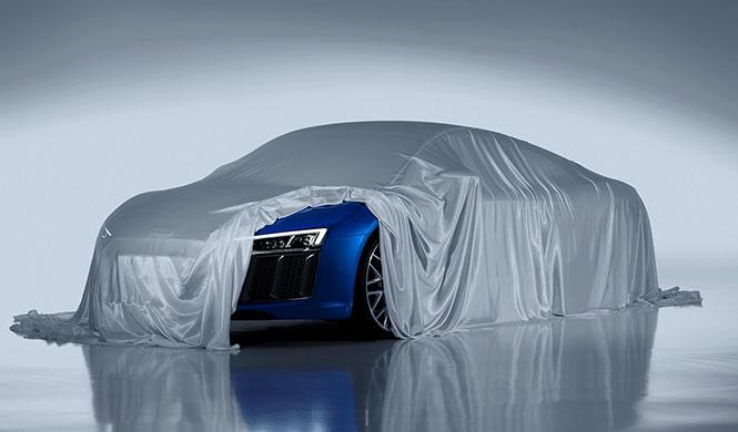 Desvelados los faros láser del nuevo Audi R8