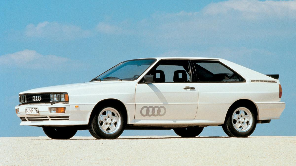 Audi Quattro delantera