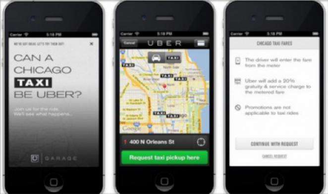 Uber regresa y lanza un servicio de comida a domicilio