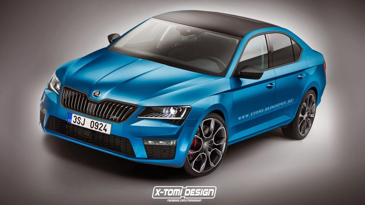 Skoda Superb vRS