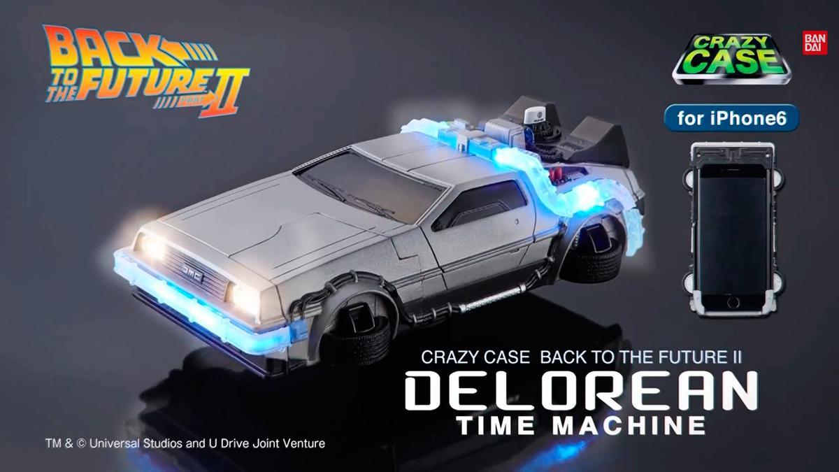 Carcasa DeLorean - Regreso al Futuro - Bandai