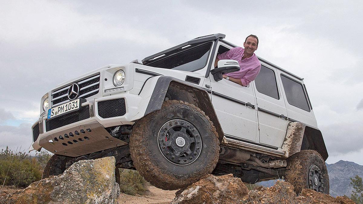 Prueba: Mercedes G 500 4x4² offroad morro