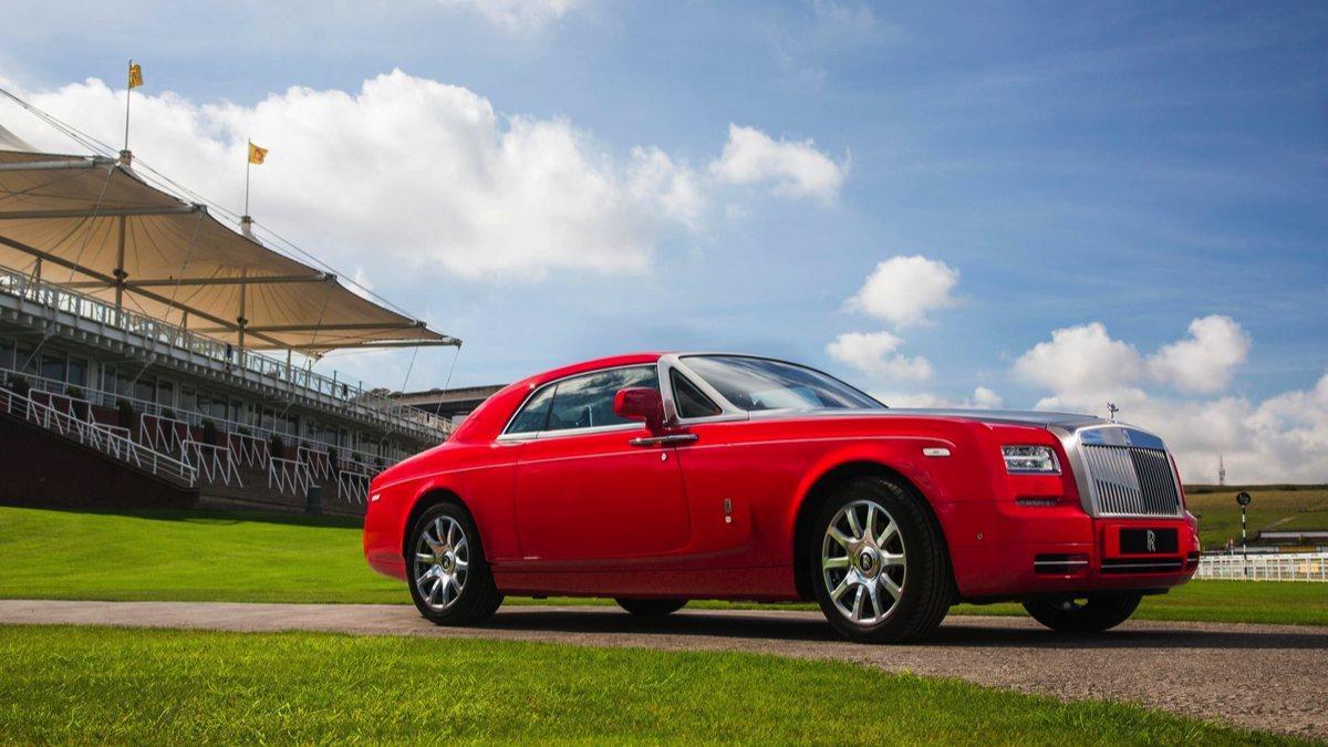Rolls-Royce Phantom Coupé Al-Adiyat delantera