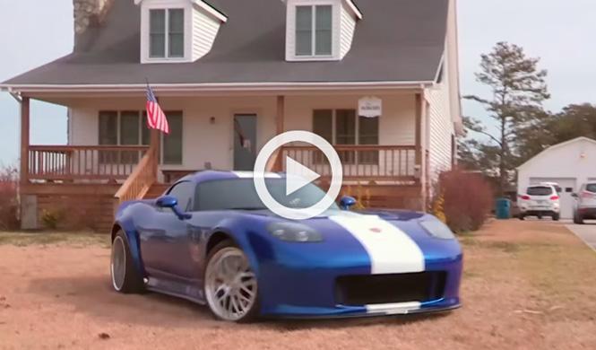 Vídeo: una abuela vende una réplica del Viper de GTA