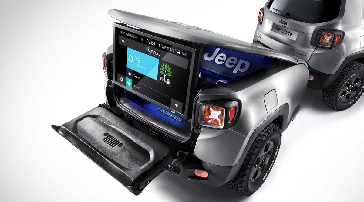 Jeep Renegade Hard Steel Concept remolque