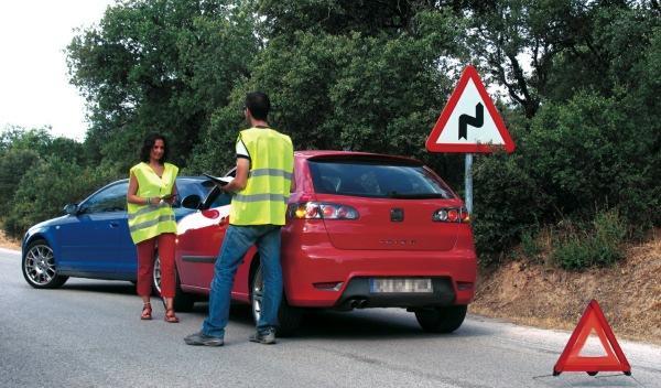 Ante un accidente, la señalización es vital