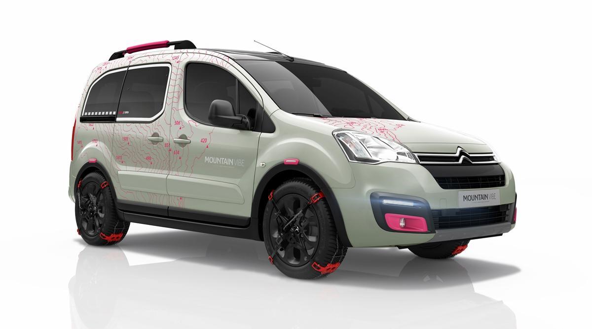 Citroën Berlingo Mountain Vibe Concept: adelanto de Ginebra