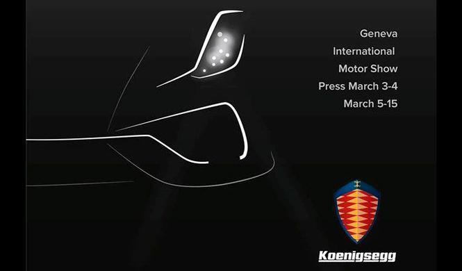 Nuevo 'teaser' del Koenigsegg Regera: pone rumbo a Ginebra