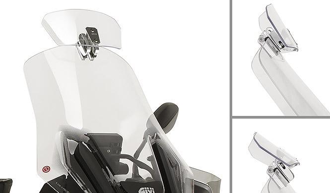 Más protección aerodinámica con Givi