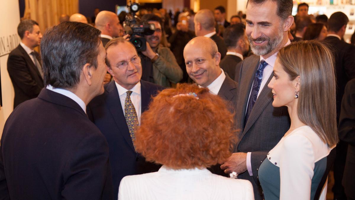 Los Reyes en ARCOmadrid - reunión