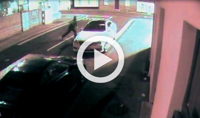 Vídeo: este ladrón intenta robar un coche con una piedra