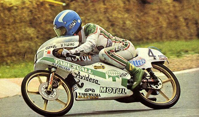 Ricardo Tormo, uno de los grandes del motociclismo español